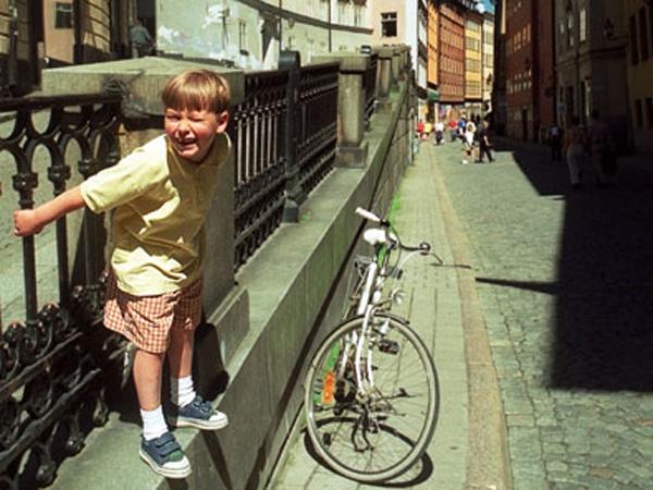 O pequeno ciclista por Antonio Ferreira dos Santos