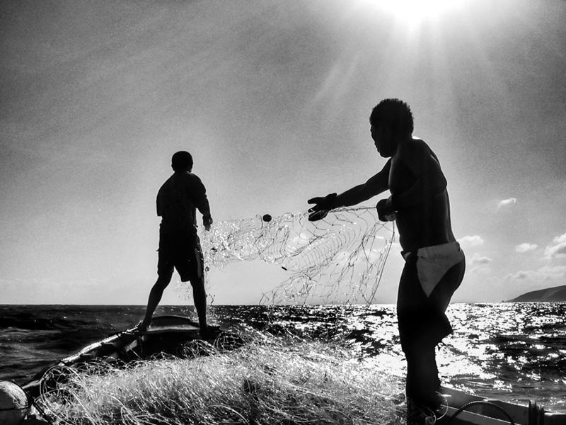 Pescaria por Ricardo Borges