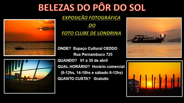 Belezas do Pôr do Sol